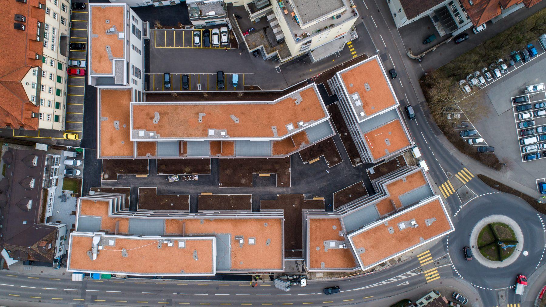 Stadthof Frauenfeld Ansicht oben