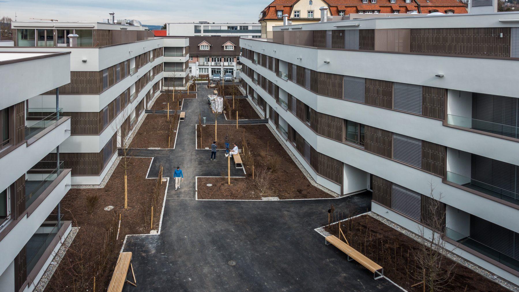 Stadthof Frauenfeld Innenhof